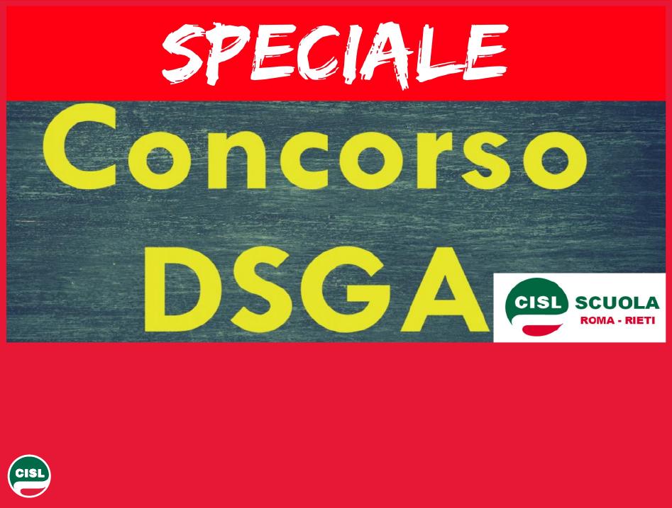 Speciale Concorso DSGA